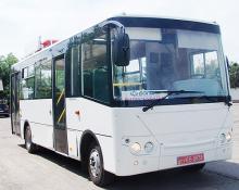 В Украине готово серийное производство газовых автобусов Богдан А22115 - Богдан
