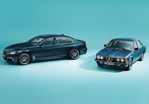 В честь 40-летия BMW 7-Серии выпустят лимитированную партию модели - BMW