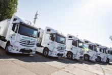 В июле Mercedes-Benz стал №1 на украинском рынке тяжелых грузовиков - грузовик