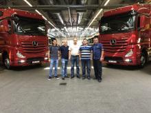 """""""ЗакарпатЕвроТранс"""" обновляет свой парк новыми Mercedes-Benz - Mercedes-Benz"""