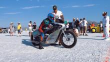 Украинская команда установила мировой рекорд скорости в Бонневилле - Бонневилль