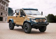 ГАЗ представил пикап с 32-сантиметровым клиренсом