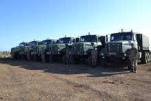 После долгого перерыва армия начала получать новые КрАЗы - КрАЗ