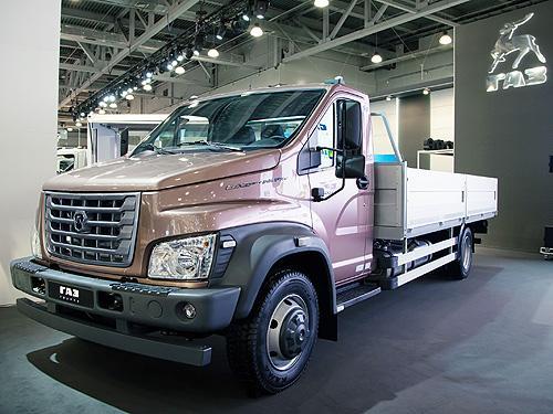 В линейке ГАЗон NEXT появился грузовой автомобиль полной массой 10 т - ГАЗон