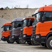 Scania представила новое поколение строительных грузовиков - Scania