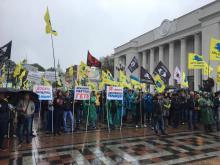 Протестующие пользователи авто на еврономерах потребовали вернуть техосмотр и обратились к Правительству Литвы. Список требований - протест