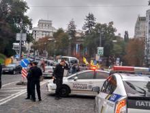 Центр Киева парализовала акция протеста владельцев нерастаможенных авто