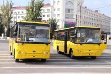 Херсонская область получила партию новых школьных автобусов Богдан - Богдан
