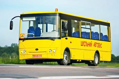 Житомирская область получит 20 школьных автобусов Богдан А22412