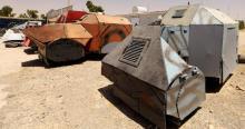 Боевики ИГ научились делать броневики из обычных автомобилей