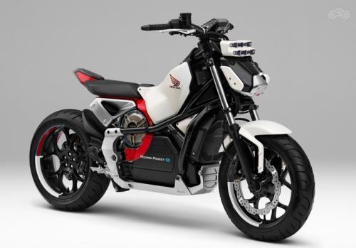 Honda представит второе поколение устойчивого электрического мотоцикла - Honda