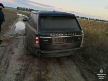 Благодаря GPS сигнализации полиция смогла отыскать угнанный Range Rover за 1 час - угон