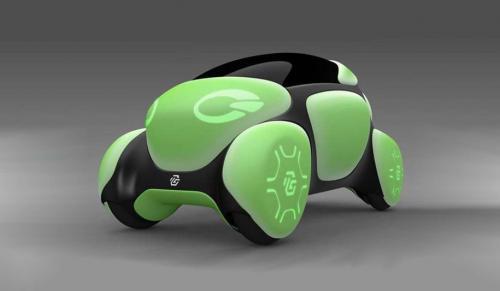Toyota покажет в Токио резиновый концепт-кар - Toyota