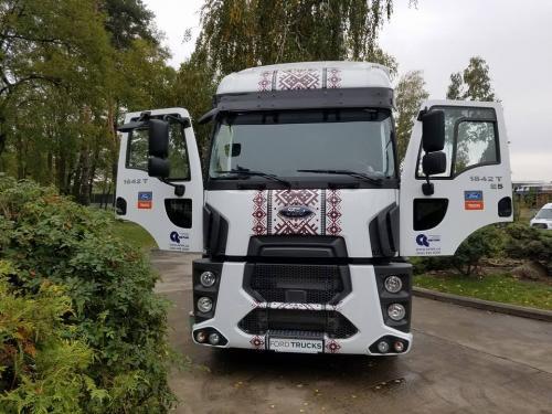Украинский дистрибьютор FORD Trucks получил престижную награду от производителя