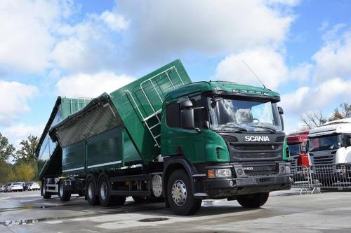 Scania подготовила аграрный самосвальный автопоезд для Украины - Scania