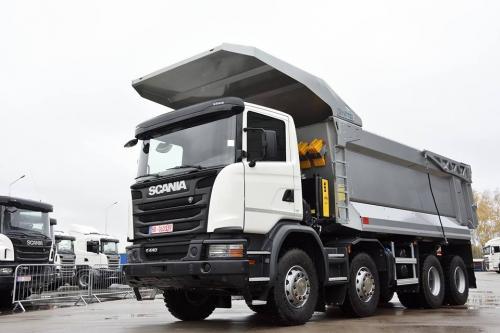 Scania представила в Украине еще одну версию карьерных самосвалов - Scania