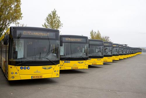 Киев закупит 200 автобусов МАЗ в лизинг