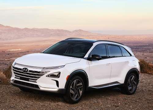Hyundai представил водородный кроссовер NEXO - Hyundai