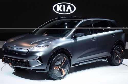 У Kia Niro появилась электрическая версия - Kia