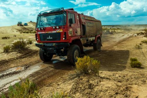 Дакар 2018: МАЗ сместили с 3-го места с помощью штрафа