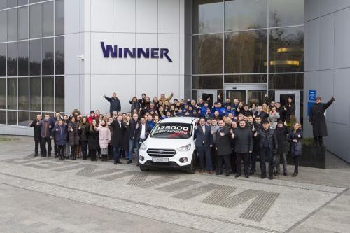 """Компания """"Виннер Импортс Украина"""" реализовала 125000-й автомобиль"""
