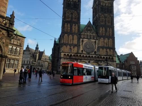 В Германии в качестве эксперимента сделают общественный транспорт бесплатным - транспорт