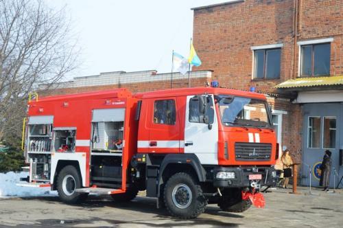 Украинские спасатели переходят на технику МАЗ