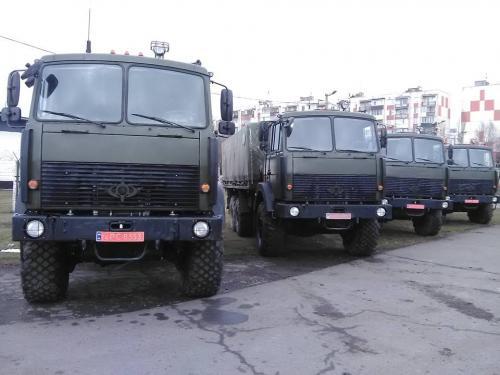 ВСУ получила новую партию армейских автомобилей - МАЗ