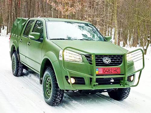 В Украине началось производство внедорожников для замены армейских УАЗов - Богдан
