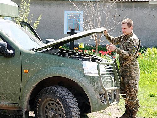 Как автомобиль спас жизни на передовой - Богдан