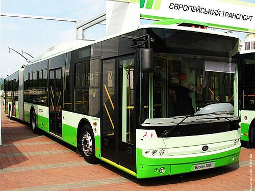 «Богдан» обошел МАЗ в тендере на поставку троллейбусов в Киев
