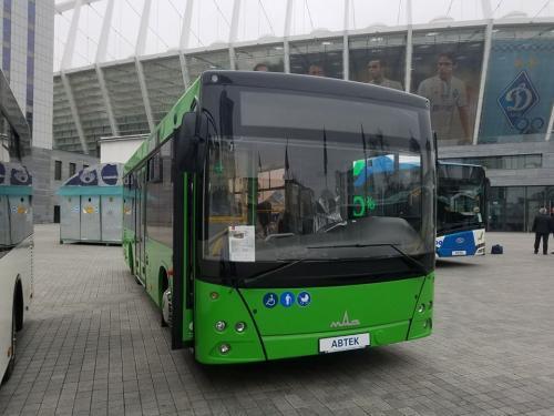 Житомир до конца апреля получит 17 новеньких МАЗ-206