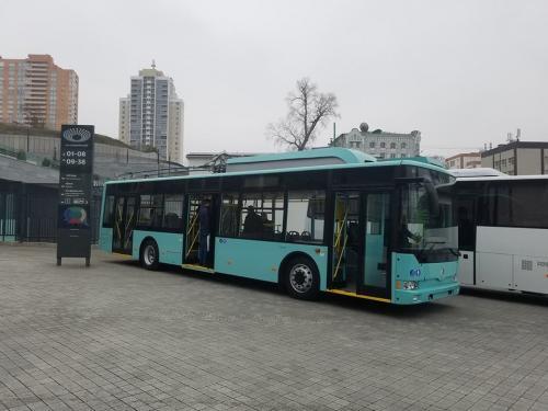 "Сумы закупят 4 троллейбуса Эталон Т12110 ""Барвинок"""