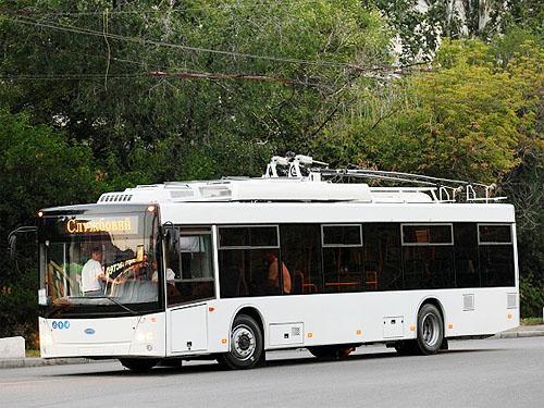 В Черновцах начали эксплуатировать троллейбусы на автономном ходу