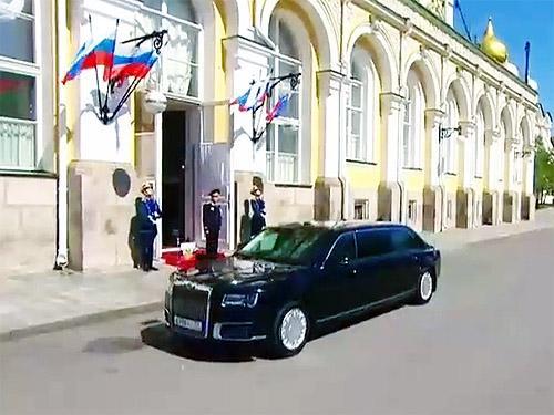 Какие недостатки выявили у нового лимузина Путина