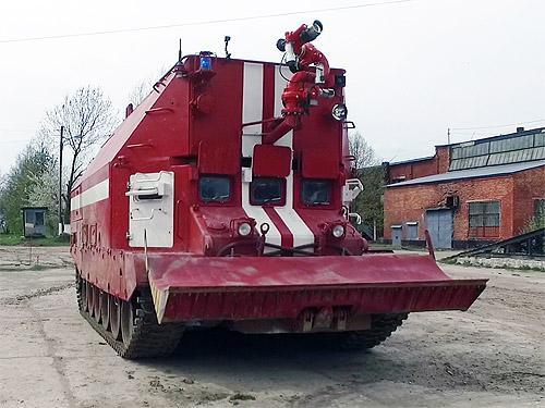 ВСУ начнет получать новейшие пожарные танки - пожар