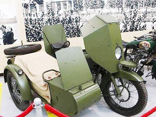 Мотоциклы Победы: Бронированные доспехи
