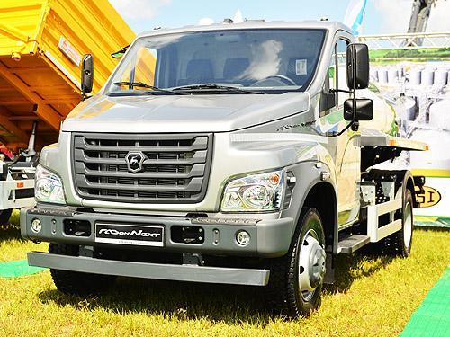 В линейке ГАЗ появились новые модели спецтехники - ГАЗ
