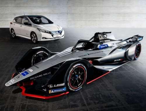 Nissan представил в Киеве стиль болида для формулы E - Nissan