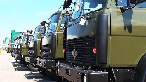 В 2019 г. значительно увеличатся поставки грузовиков Богдан 6317 в ВСУ