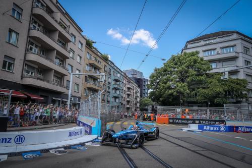 Как в Цюрихе прошла гонка Formula E для команды Renault