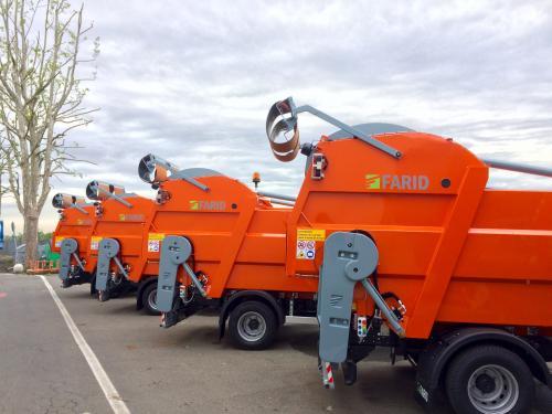 Завод спецтехники Техкомплект поможет с запчастями владельцам подержанных мусоровозов Farid