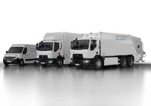 Renault Trucks представит модельный ряд электрогрузовиков Z.E.