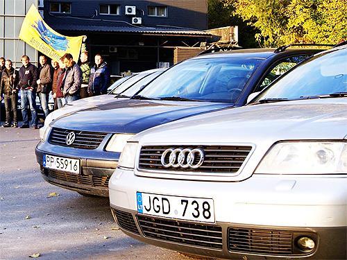 """Полиция будет штрафовать за нерастаможенные """"евробляхи"""". Какие будут штрафы"""