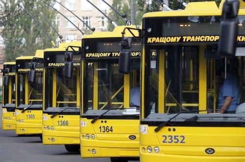 Сколько общественного транспорта необходимо в Киеве чтобы заменить маршрутки