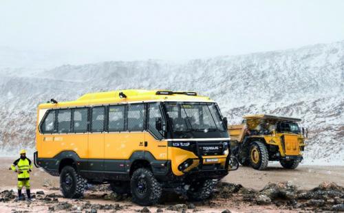 Украинский стартап разработал автобус для бездорожья