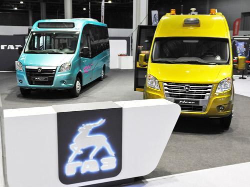 ГАЗ представил беспилотные автомобили