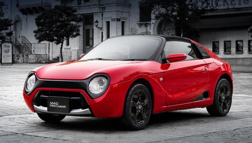 Honda представила субкомпактный родстер в ретро-стиле