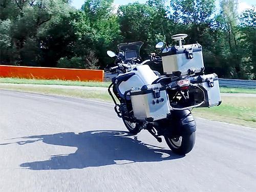 BMW анонсирует беспилотный мотоцикл