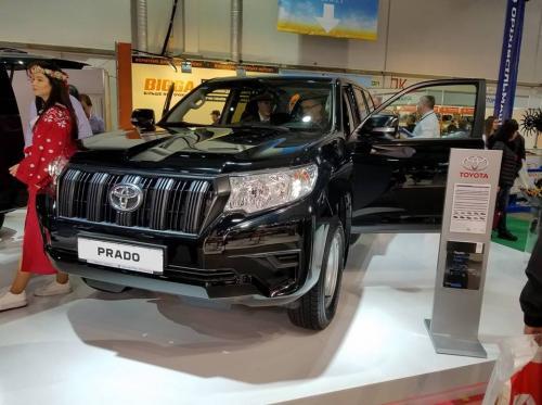 Toyota представила в Украине Prado за $30000